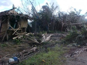 So many homes were destroyed in the villages
